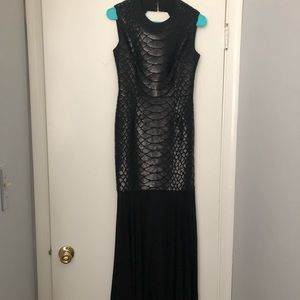 Black BCBG Gown